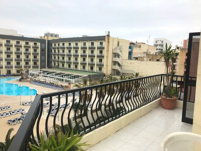 Photo for Yarin Apartment FLT 9 apartment in Bugibba with WiFi, balcony & lift.