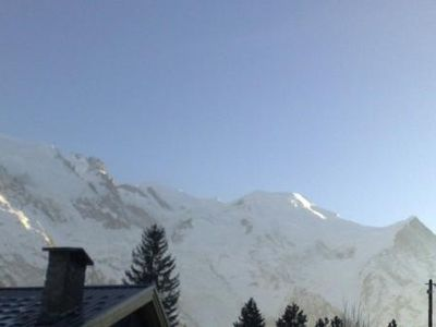 Photo for Large 75 m2 apartment, centre of Chamonix with a large south facing balcony