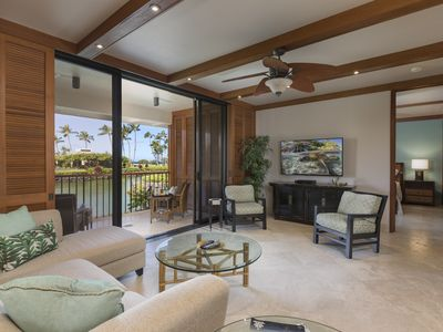 Photo for Enjoy a 2 bedroom vacation rental at Mauna Lani Terrace