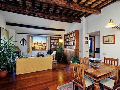 Photo for Piazza Mattei Terrace Apartment
