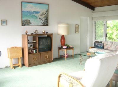 North view - Hale Honu Family Room - Captain Cook, Hawaii