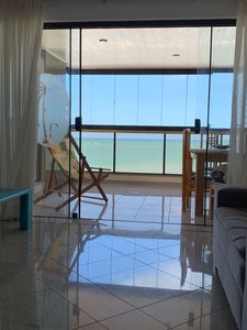 Photo for # Apartment in front of Praia do Morro Guarapari - 4 bedrooms-10 people