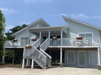 Photo for Emerald Isle beach house, completely renovated and steps from the ocean!