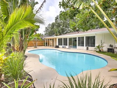 Photo for NEW! Dunedin House w/Pool - Close to Beaches!