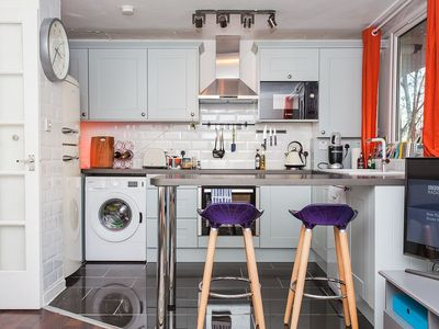 Photo for Peckham! Newly refurbished 1 Bedroom (plus sofa bed) with balcony