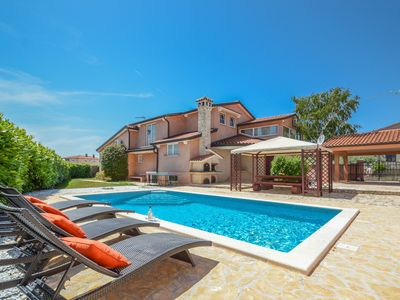 Photo for Luxury Villa Duda with pool and sea views