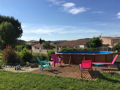 Photo for House in Gardanne between Marseille and Aix-en-Provence, 3 bedrooms private pool.