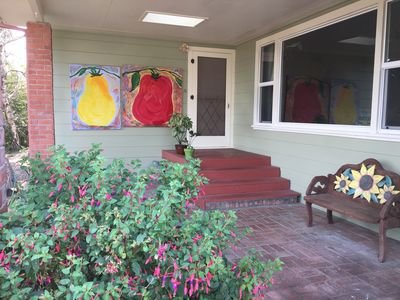 Front porch--Welcome!!  :-)