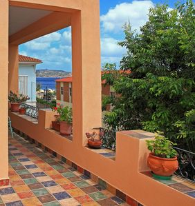 Photo for Nice master apartment center town 2min walk to beach, large seaview terrasse