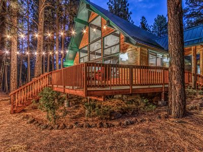 Photo for Christmas Tree Cabin- Cozy Cabin in the Pines!