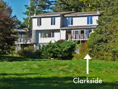 Photo for Clarkside at Cobb Nob: Shorefront Duplex in the Village of Southwest Harbor