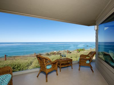 Photo for Oceanfront Views From Front Door To Back Patio! 2 Bedroom In Surfsong