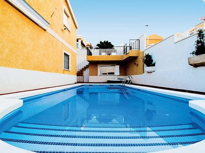 Photo for 3 bedroom air-conditioned villa w/ cable TV, 30 min walk from village