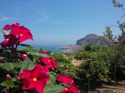 Photo for Casa Stella in Cefalù, panoramic with garden and private parking