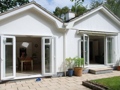 Photo for Central Falmouth, Beach & town 5 min. Spacious garden. Parking for 2 cars.
