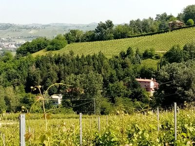 Photo for 4- bedroom single occupancy house in the green hills above Canelli.