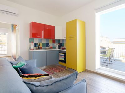 Photo for Napoli Capuano apartment in San Lorenzo with WiFi, air conditioning & private terrace.