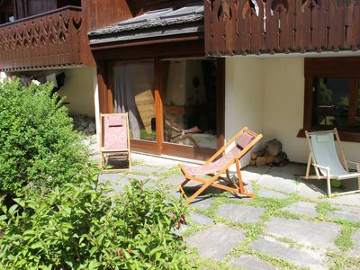Photo for 3 room apartment in Les Praz de Chamonix 300 m golf and Flegere cable car