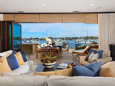 Photo for Newport Beach Luxurious Balboa Peninsula Bay Front Home