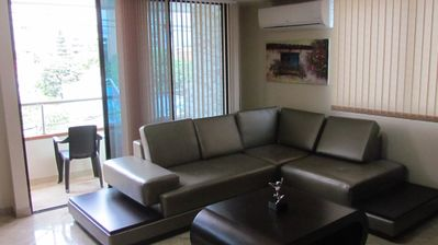 Photo for Two Bedroom Balcony AC, Hot Tub Parque Poblado  wifi APT 302