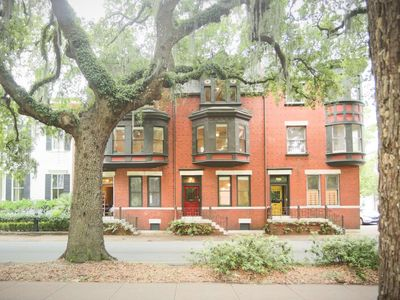 Photo for Flexible Deposit/Refund Policies: Row Home Overlooking Forsyth Park