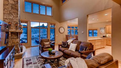 Photo for Aspen View Estate: Hot Tub, 3 Kitchens, Pool Table, Foosball