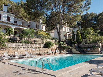 Photo for Beautiful Villa with pool and very close to the beach