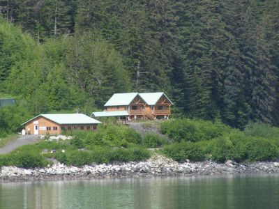 Photo for The Gathering Place Cabin #1, rustic cabin on the water, close to Chilkoot River