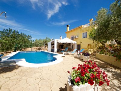 Photo for LA COCHERA cozy country home with a wonderful pool.