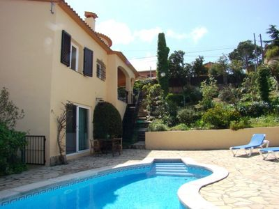 Photo for Club Villamar - Nice villa with private pool, garden, terrace and barbecue