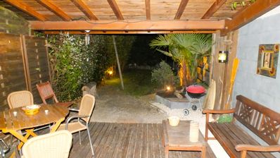 Photo for Sympathetic independent apartment with small garden in 3 kms of the beach