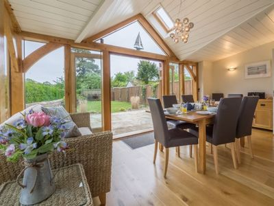 Photo for Traditional brick and flint cottage providing  modern accommodation