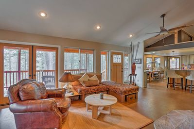 Experience the magic of the Trinity Alps wilderness from this Weaverville home!
