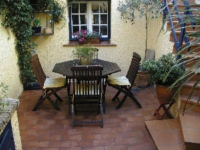 La Belle Cour's inviting courtyard