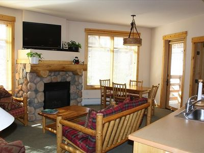 Photo for Ski in/Ski Out, 2 BR/2 BA, *Sleeps 8*