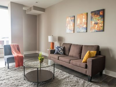 Photo for Center of Everything | 1br w/ Balcony + Parking