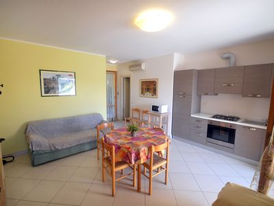 Photo for Spacious one bedroom apartment with large terrace in the area convenient to beaches and shops