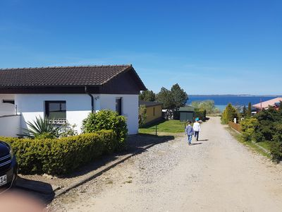Photo for Us Ferienhus with sea view of the Baltic Sea