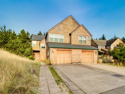 Photo for Beautiful, dog-friendly home with private hot tub & easy beach access!
