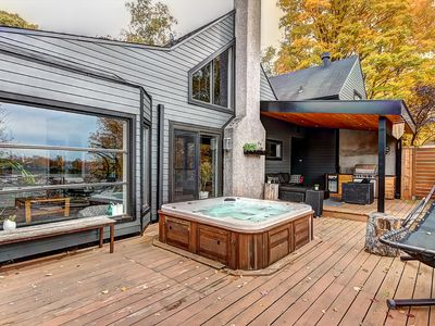 Photo for BEST IN QUEBEC CITY !! PRIVATE HOUSE BY THE WATER
