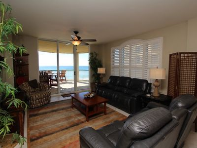 Photo for Beach Colony East 4D-Beach Front unit with large terrace & amazing views!