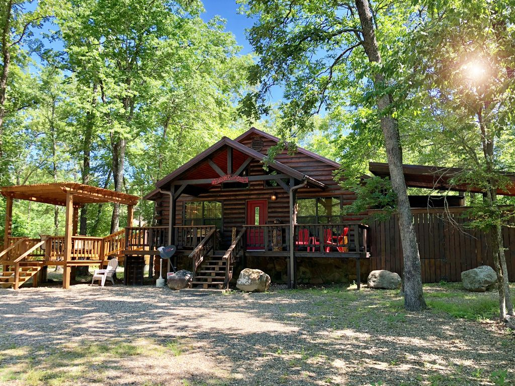secluded cabin rental in beavers bend oklahoma near