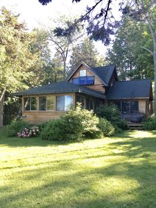 Photo for Secluded, Wooded & Dog-friendly Home On The Lake W/ Casual Decor