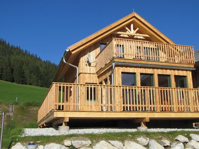 Photo for New luxury wooden chalet, 200 metres from the lift in Hohentauern