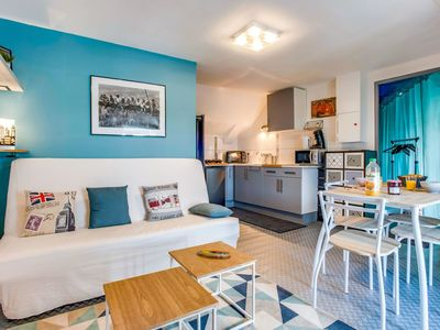 Photo for Cosy apartment for 2 people with WIFI and TV