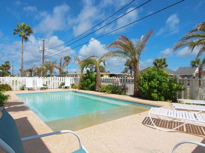 Photo for 10 bedrooms, private pool, steps to the beach and sleeps 24!