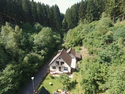 Photo for Detached and comfortable home with garden, in a unique location in the Eifel