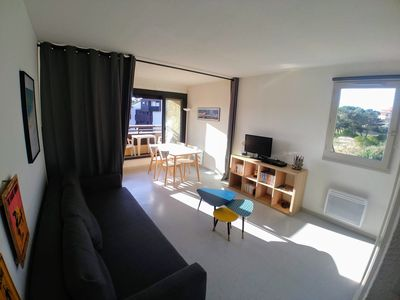 Photo for Quiet studio 100m from the beach and shops in Seignosse Océan
