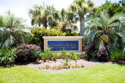 A private and gated community provide a safe place for your stay.