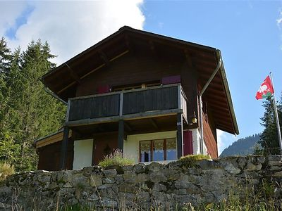 Photo for Apartment La Puce, Chalet  in Rougemont, Alpes Vaudoises - 5 persons, 2 bedrooms